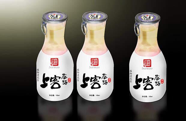 Sukoo梅酒 产物包装设想