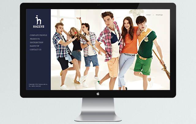 HAZZYS 网站设计