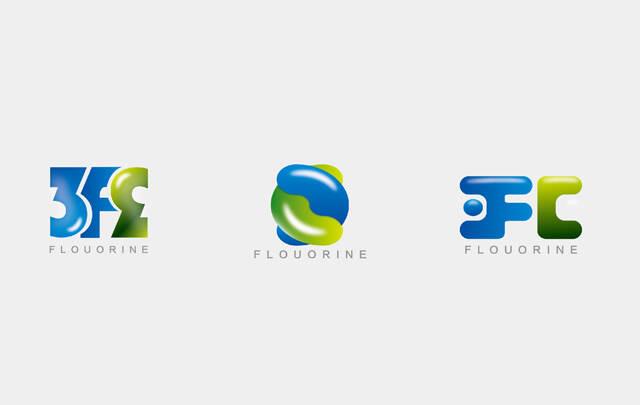 化学品vi设计上海三爱富新logo设计