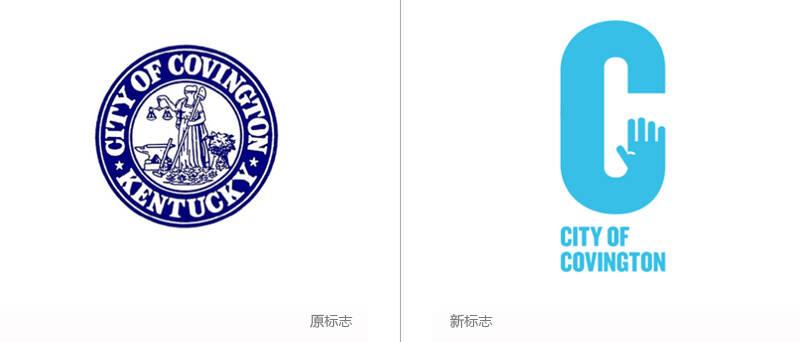 """服裝品牌標志設計是以其品牌名稱首字母""""c""""和手掌為主要構思要素,擬人"""