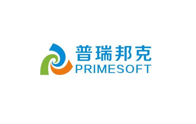 普瑞邦克金融管理软件logo设计