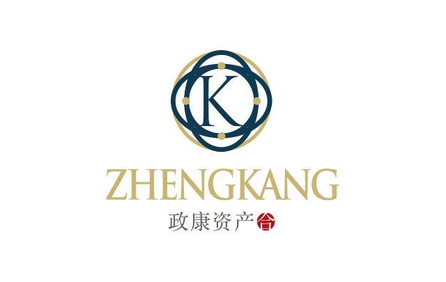 管理咨询政康资产企业logo设计
