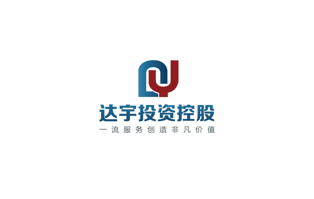 金融投资达宇投资logo、vi设想