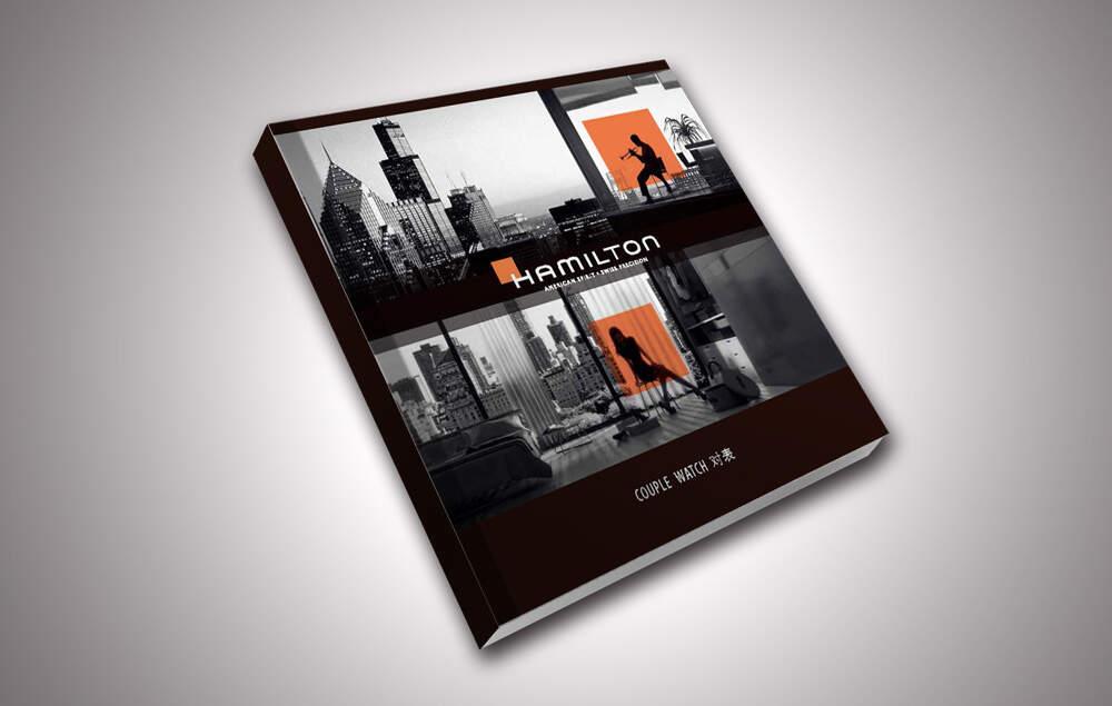 汉密尔顿手表画册设计制作