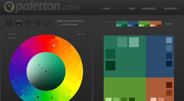 提炼配色方案