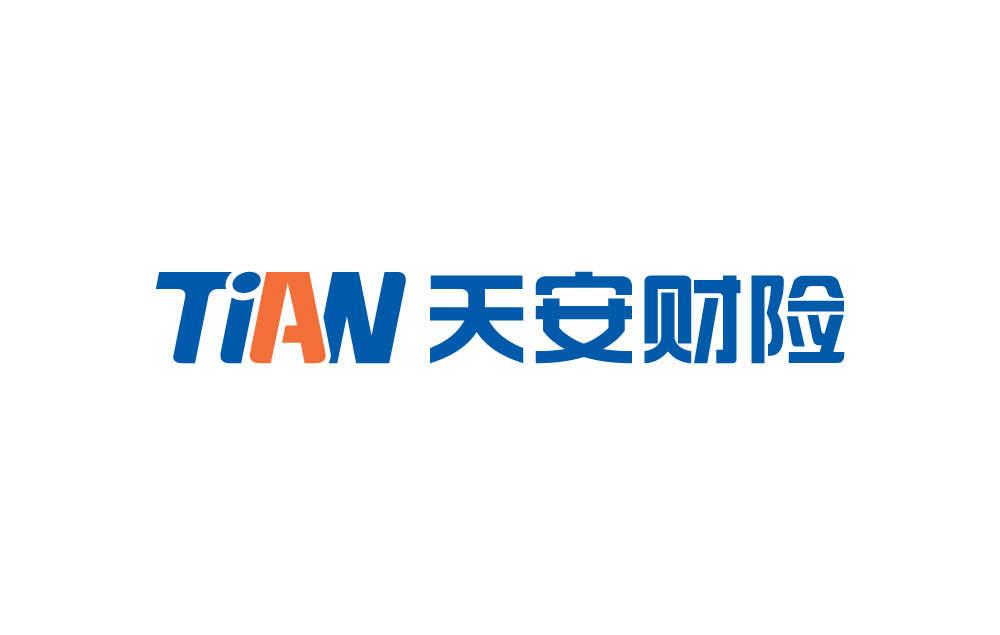 天安财产公司logo/VI设计