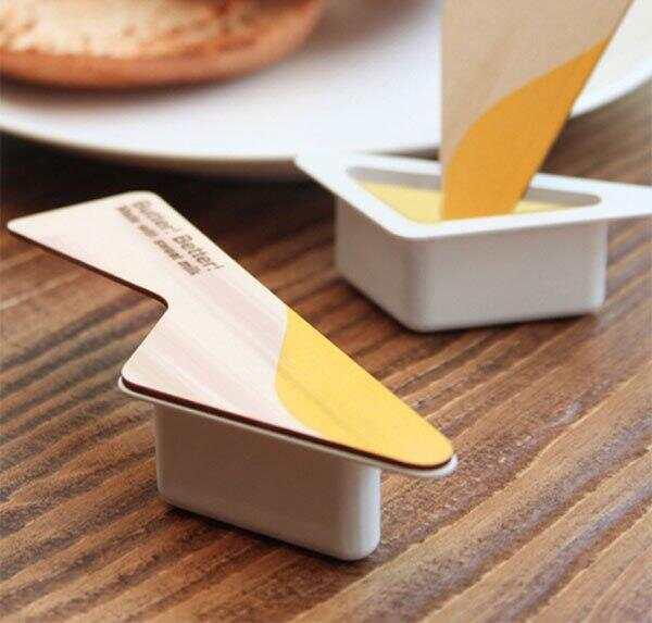 可以当封盖的奶油抹刀包装设计