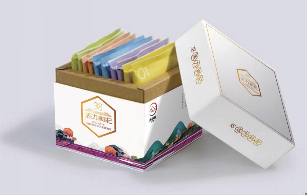 农产品包装设计—西海源枸杞包装设计