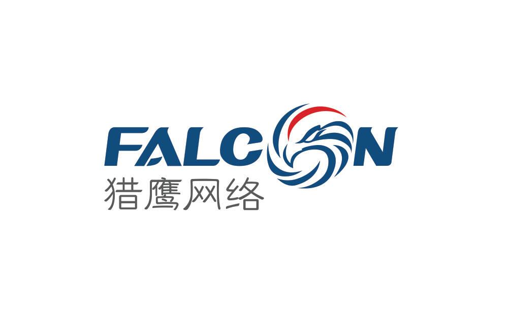 网络公司logo/VI设计-上海猎鹰网络