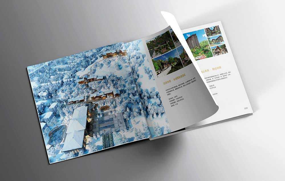 企业建筑画册设计-上海中星志成建筑