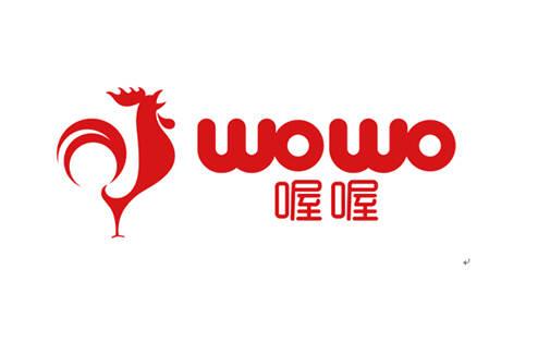 喔喔食品logo设计/品牌logo设计