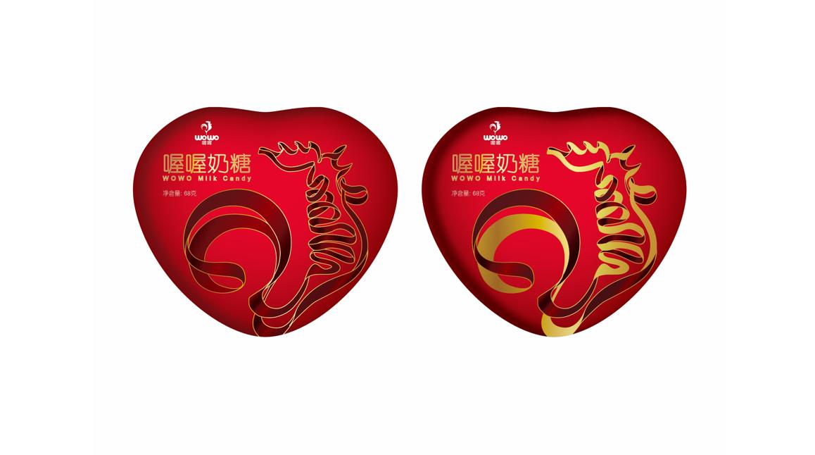 上海喔喔食品包装设计/品牌奶糖包装设计