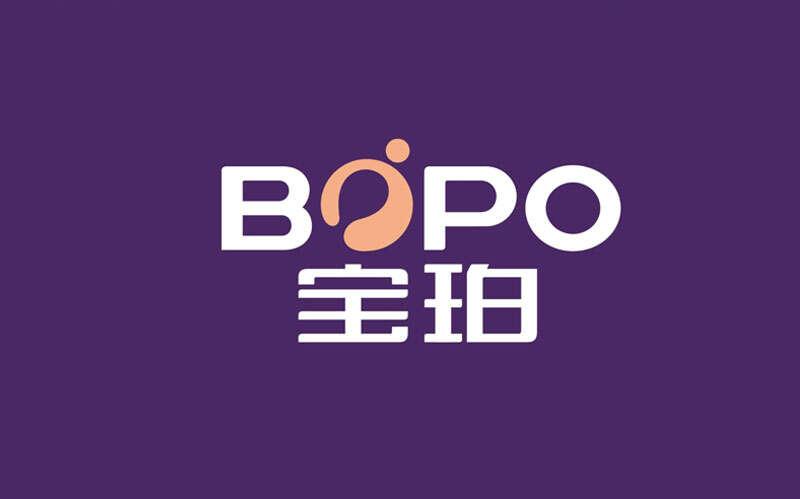 宝珀乳胶床垫logo设计品牌升级|家居行业logo设计公司