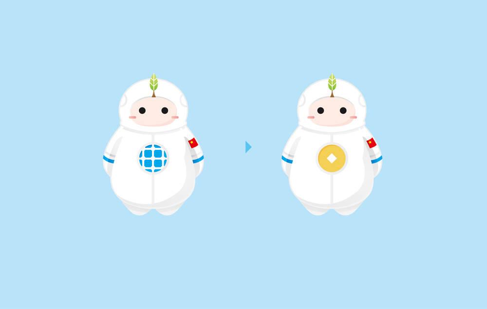 米宝吉祥物设计及设计延展-中国航天吉祥物设计