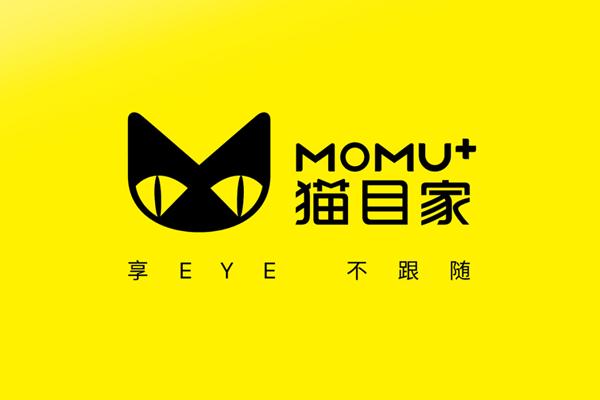品牌VI设计|隐形眼镜VI设计-猫目家MOMU品牌形象设计
