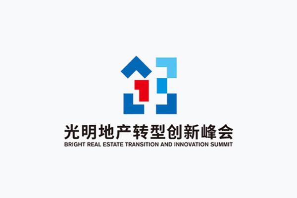房地产LOGO标志设计|光明地产转型创新峰会徽标设计