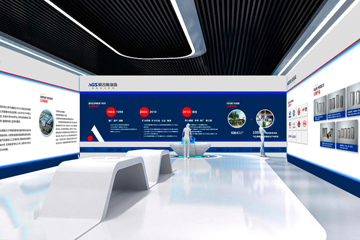 企业展厅设计|公司si设计-江苏爱吉斯海珠机械公司图片