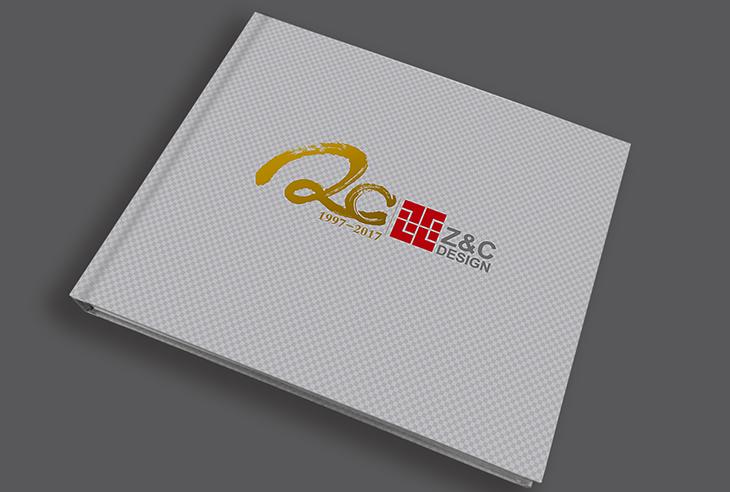 建筑行业画册设计|20周年宣传画册设计-上海中星志成公司