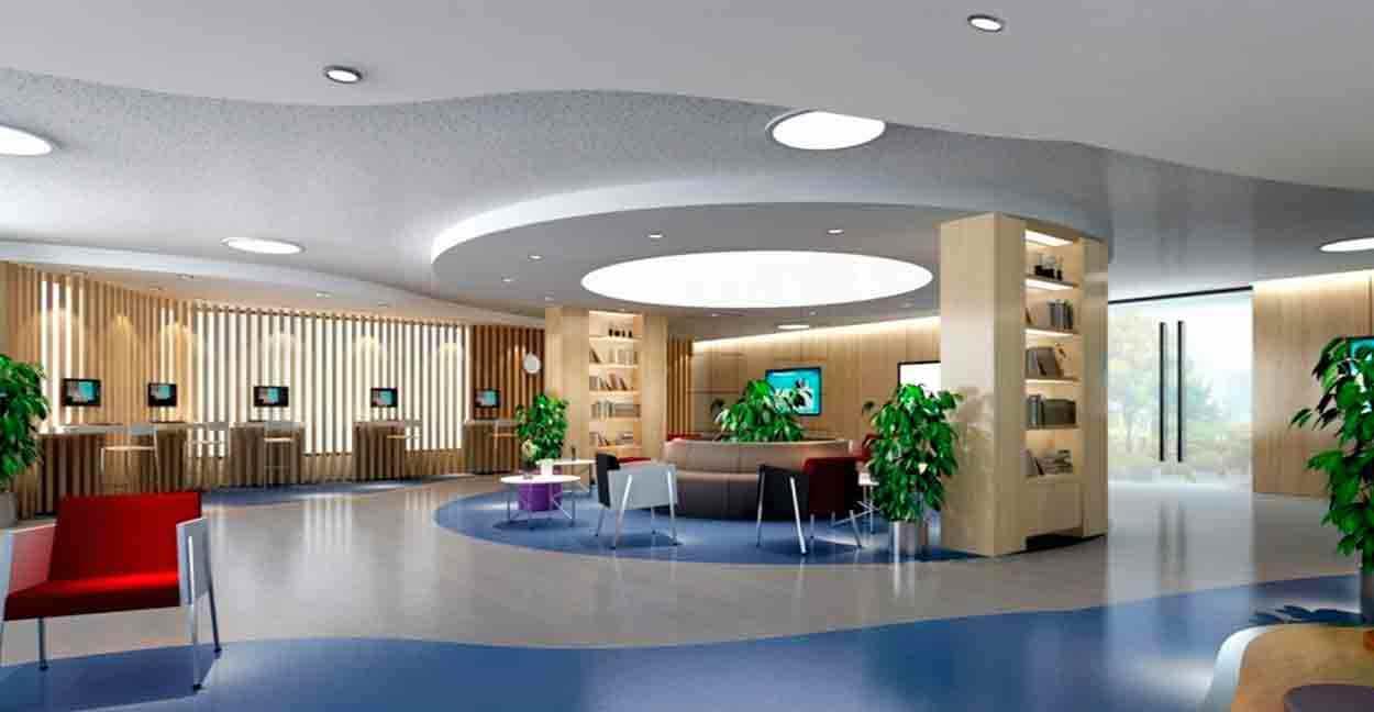 财经大学SI空间设计-留学生交流中心室内装修设计