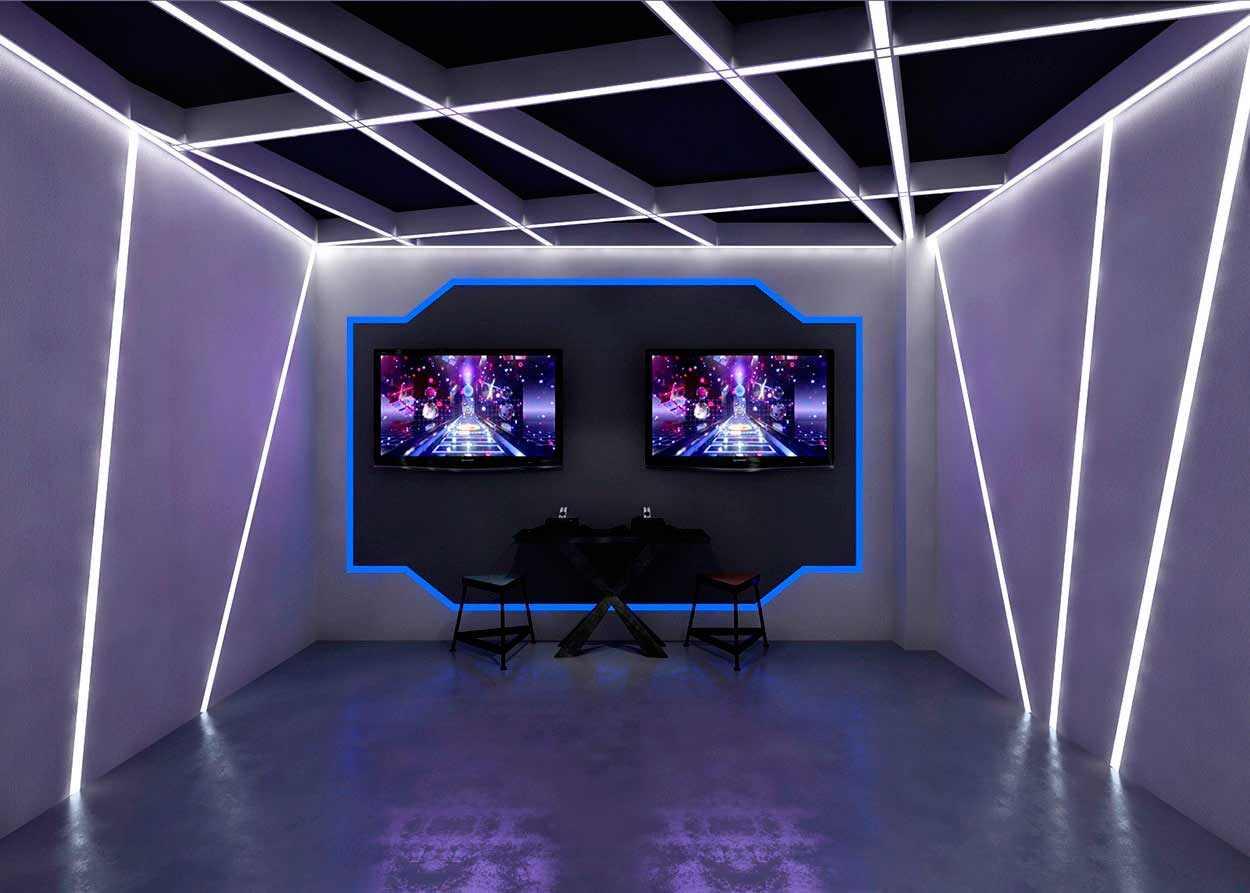 科技娱乐VR展厅设计-极客VR体验馆si空间设计