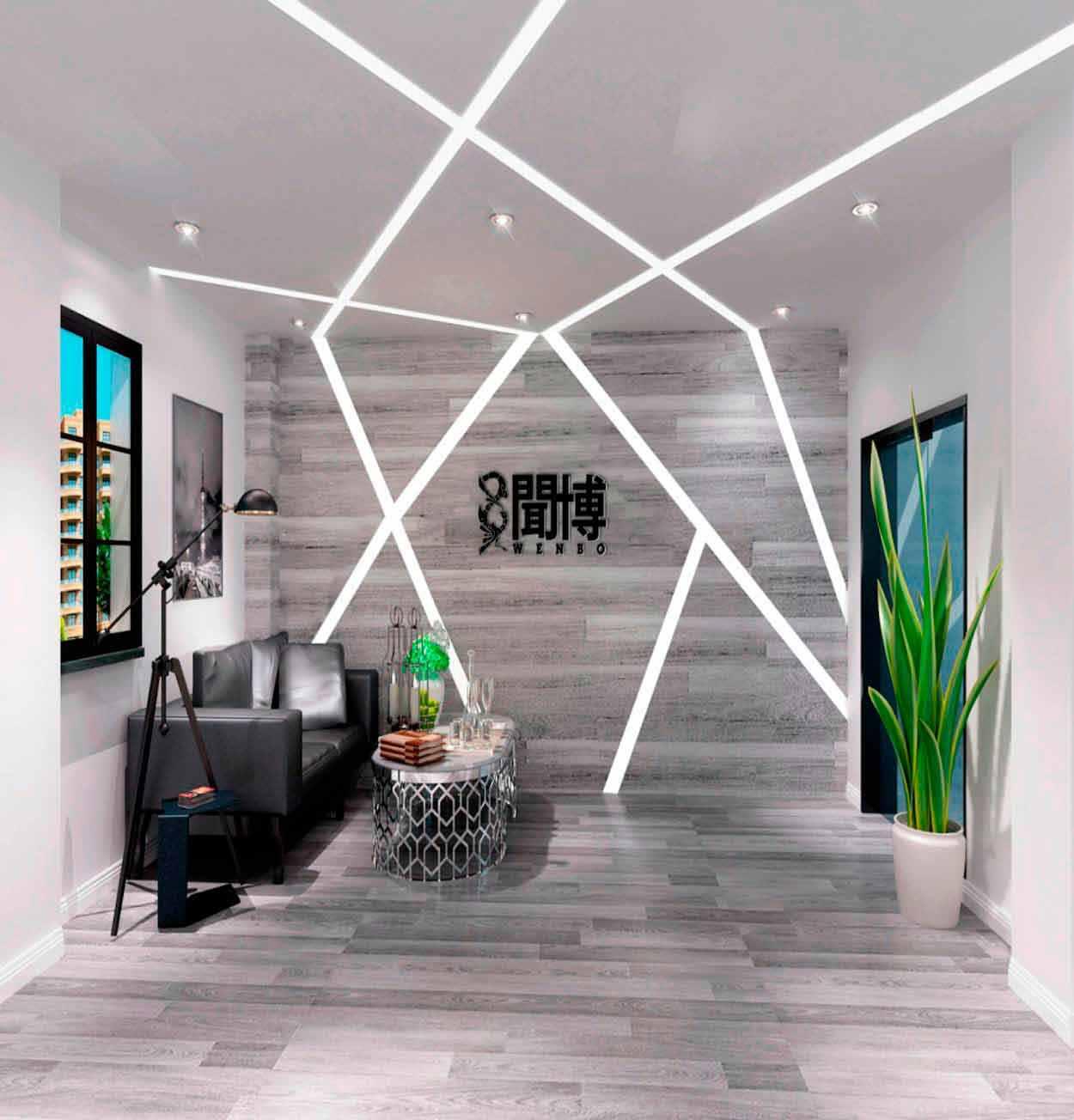 现代化办公室设计|简约办公室空间设计|写字楼装修设计