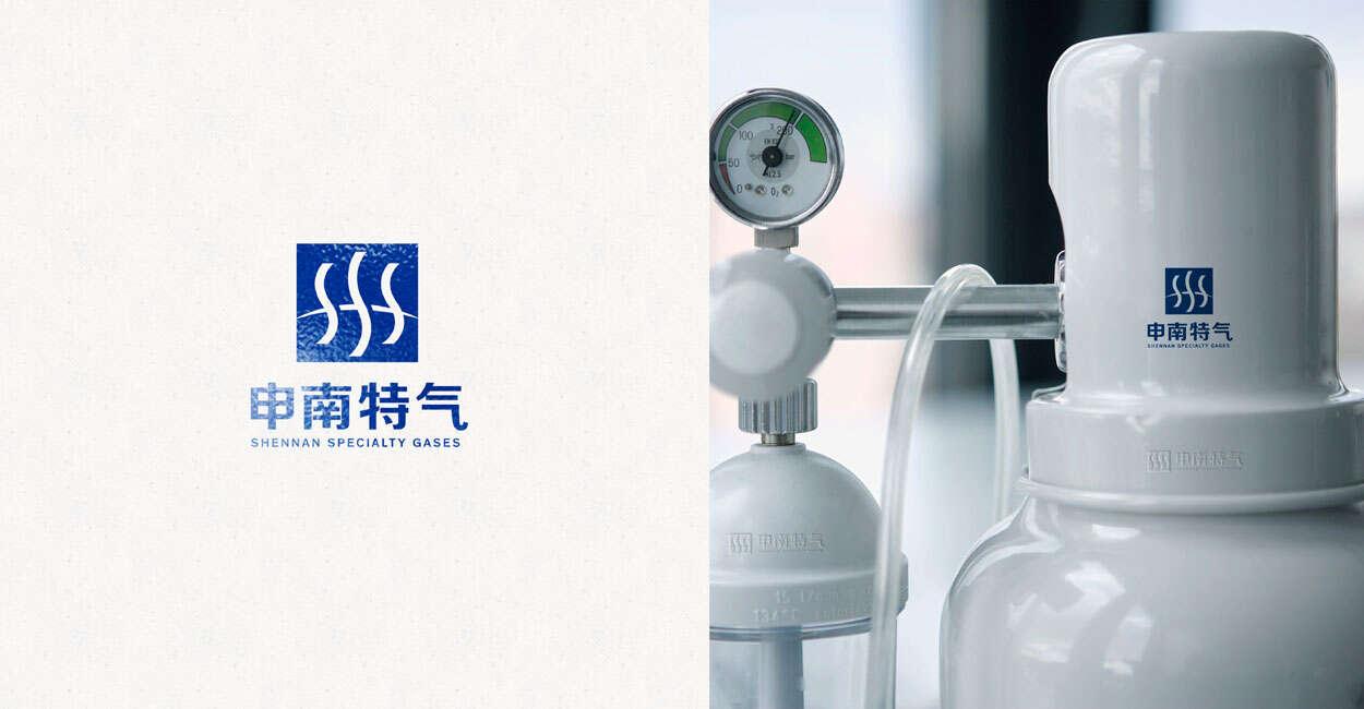 特种气体行业品牌标志logo设计