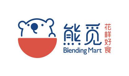上海餐饮品牌logo设计-知名熊形象餐饮标识策划-熊觅餐饮管理公司-浙江苏州